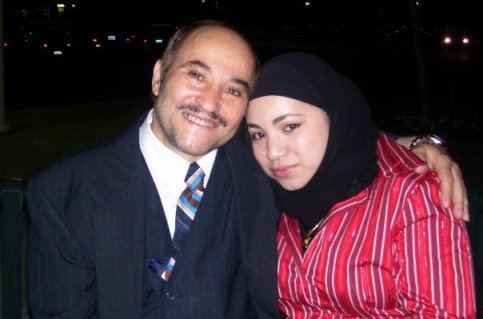 with my Baba, October 2007