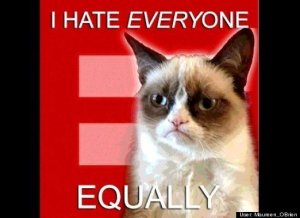 I Hate Everyone Equally